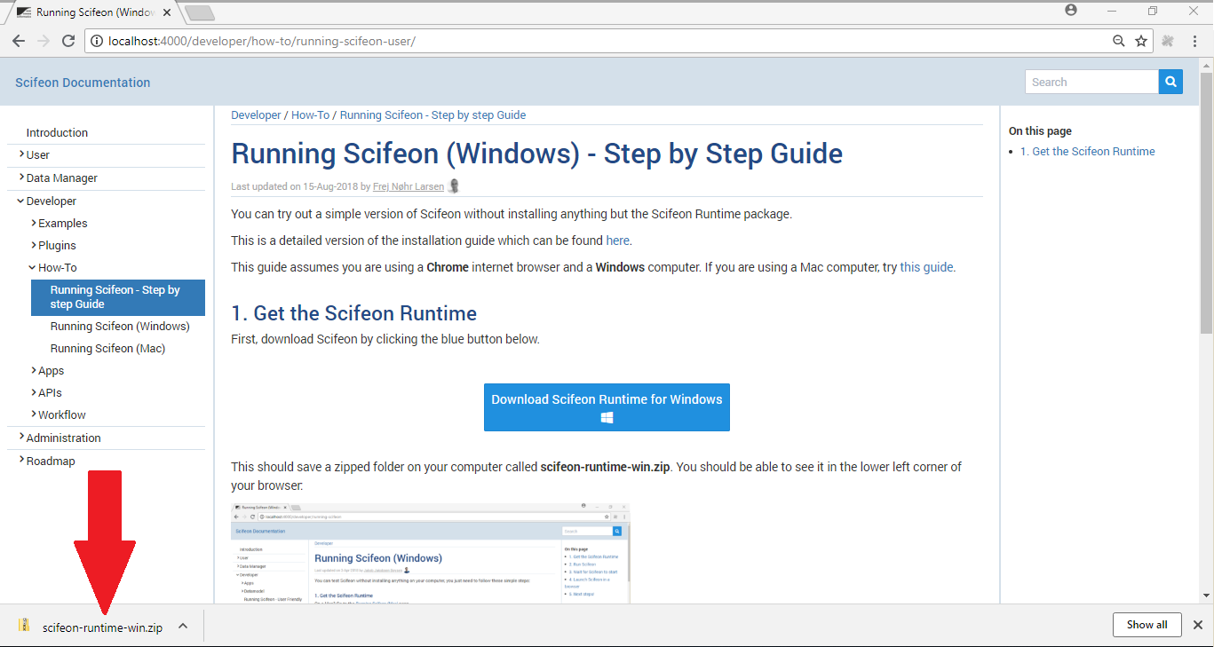 Running Scifeon (Windows) - Step by Step Guide | Scifeon